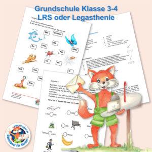 Beispiel aus der Rätselpost für 3. und 4. Klasse